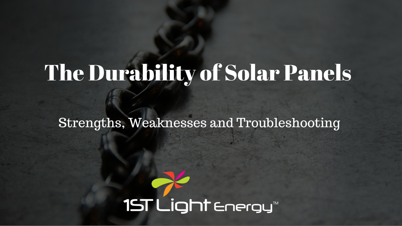 The Durability of a Solar Panel