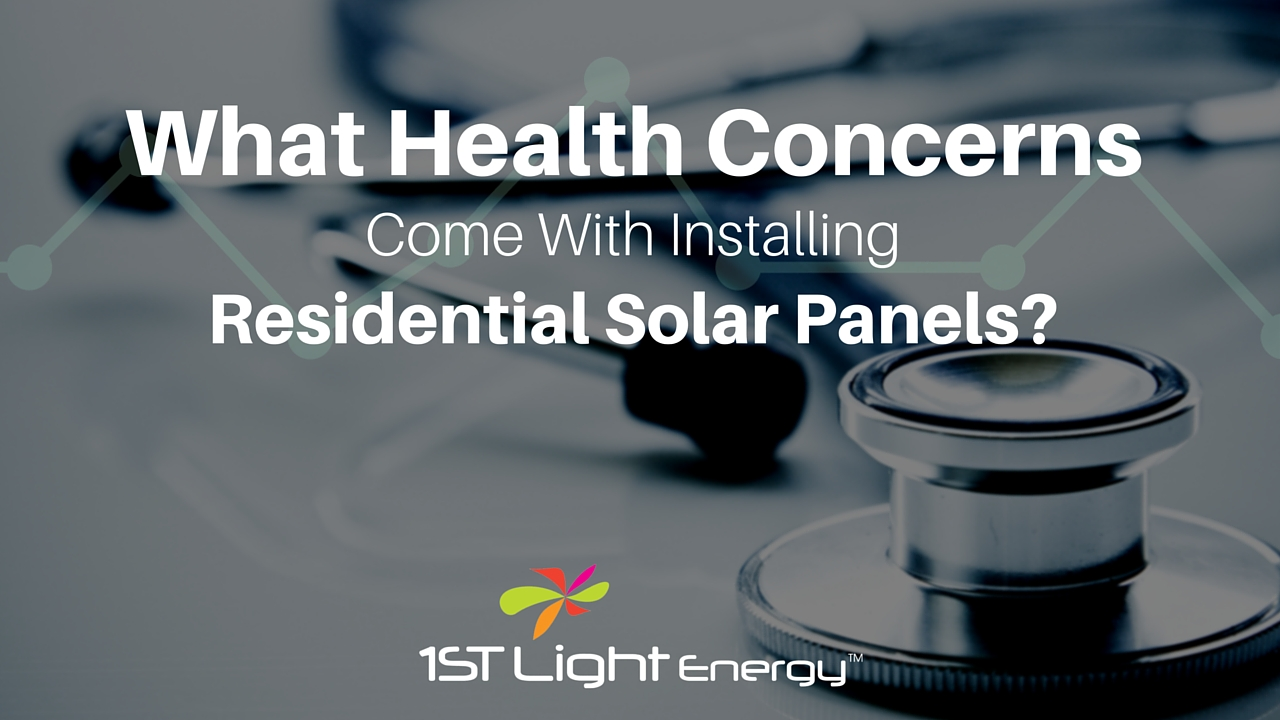 Solar Panel Health Concern Title Image