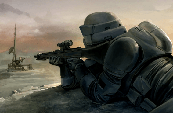 Imperial Scout Troopers - Sniper 1