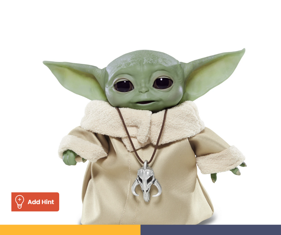 The Baby Yoda Animatronic