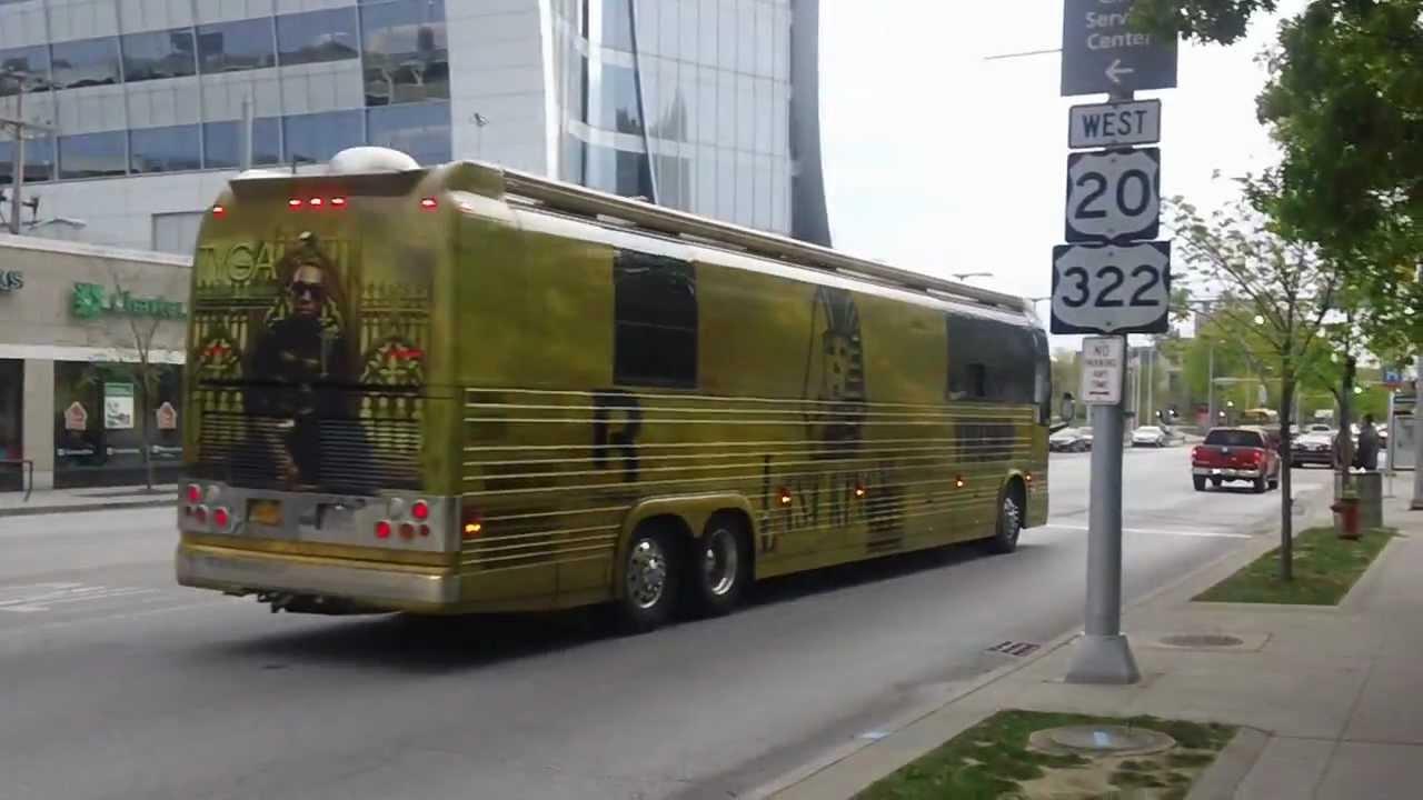 Tyga Tour Bus