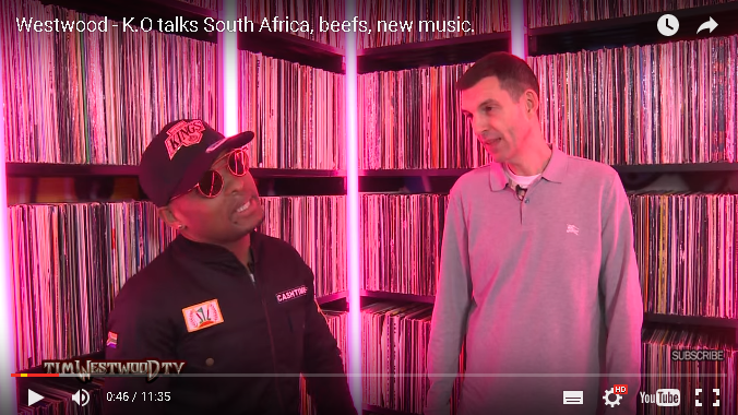 Photo of Check Out K.O's Tim Westwood Interview