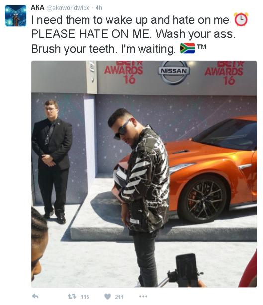 AKA on hate
