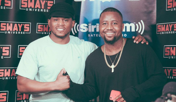 Check Out Cassper Nyovest's Freestyle On Sway In The Morning [Video]