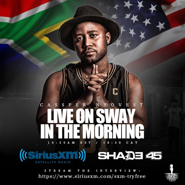 Twitter Reacts To Cassper's Sway In The Morning Appearence