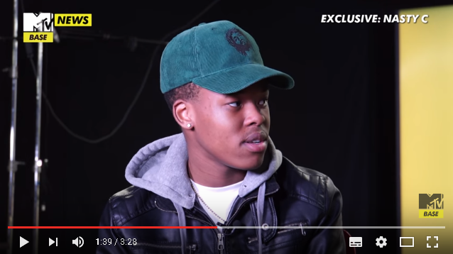 Nasty C Explains The Accident That Almost Took His Life Happen [Video]