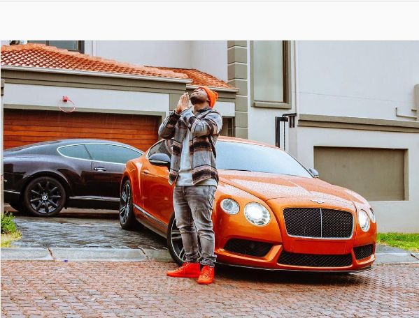 This Is How Much Damages On Cassper's Bentley Amount To