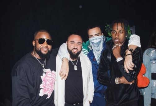 Pics! Cassper Parties With French Montana And Big Shaq