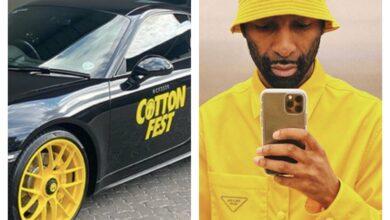 Riky Rick Pimps His Porsche For Cotton Fest