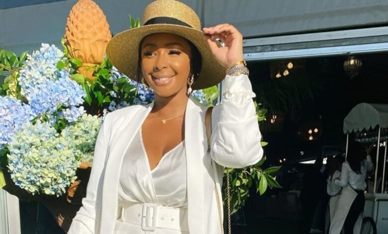Boity Shows Off Her Rolex Watch Worth R200 000