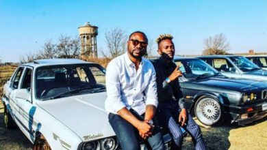 Photo of Here's How Kwesta & Reason Express Their Love To Each Other