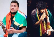 "Photo of ""Black Is King my a$s"" Says AKA As He Pays Respect To Zimbabwe"
