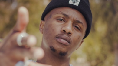 Watch! BTS Footage Of Emtee Recording His Verse For Latest Ami Faku Single Lala Ngoxolo