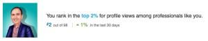 geoff linkedin profile views professional