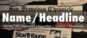 linkedin name headline