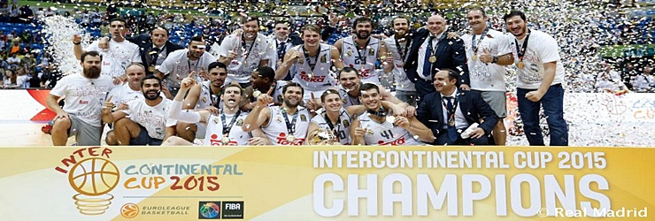 Repoker: El Real Madrid se proclama campeón de la Copa Intercontinental