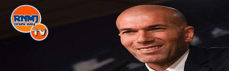 Rueda de prensa de Zidane previa al partido ante el Sevilla