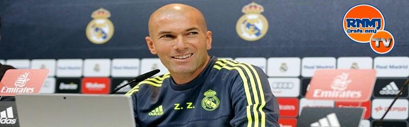 Rueda de prensa de Zidane previa al partido ante la UD Las Palmas
