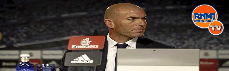 Rueda de prensa de Zidane tras el partido ante el Sevilla