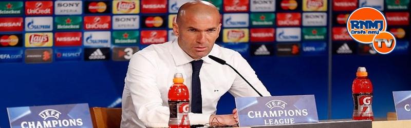 Rueda de prensa de Zidane tras el partido ante el AS Roma