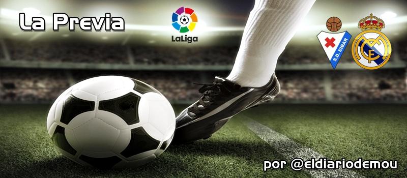 SD Eibar vs Real Madrid: Solo vale ganar