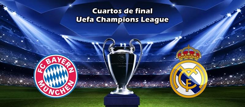 El Real Madrid se enfrentara al Bayern Munich en los cuartos de final de la Champions League