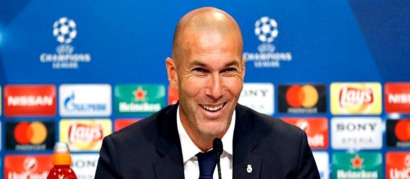 Rueda de prensa de Zinedine Zidane tras el partido ante el Bayern Munich