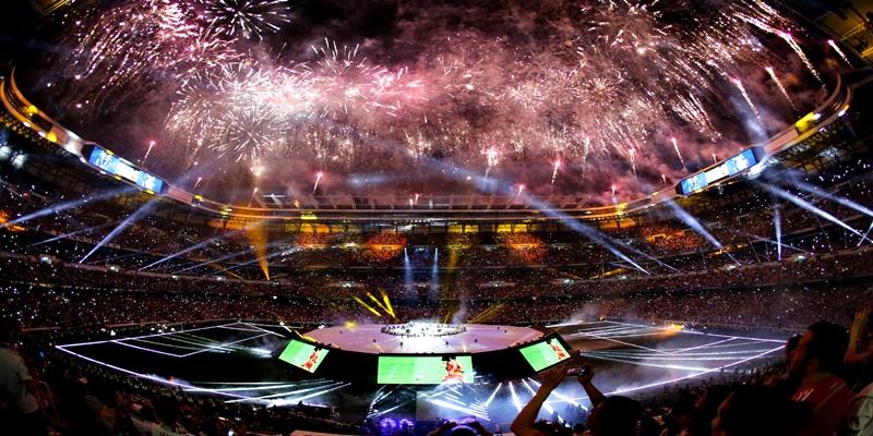 VIDEO | Fiesta de celebración de la Duodécima en el Santiago Bernabéu