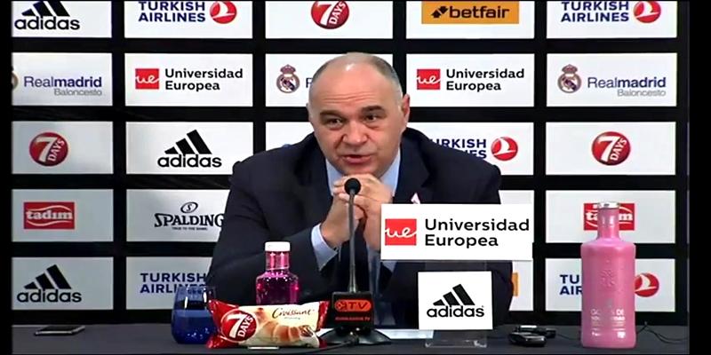 RUEDA DE PRENSA   Pablo Laso: «Estoy contento por el trabajo del equipo y por como hemos entendido el partido»