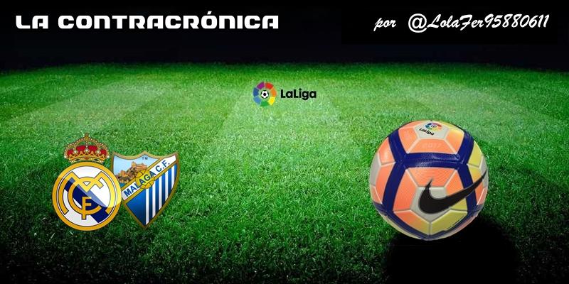 LA CONTRACRÓNICA   Seamos resultadistas: Real Madrid 3 – 2 Málaga