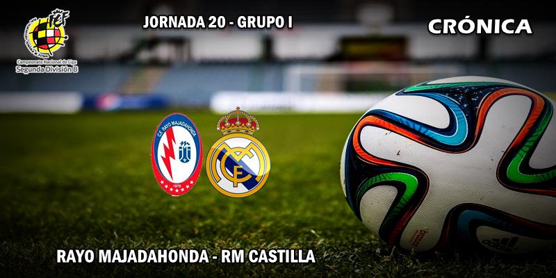CRÓNICA   Mal comienzo de año: Rayo Majadahonda 3 – 1 RM Castilla