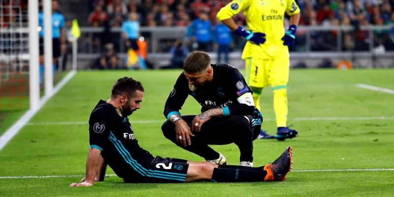 NOTICIAS   Carvajal se perdera el partido de vuelta ante el Bayern y Isco es seria duda