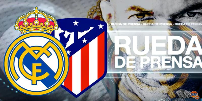 VÍDEO | Rueda de prensa de Zinedine Zidane tras el partido ante el Atlético de Madrid