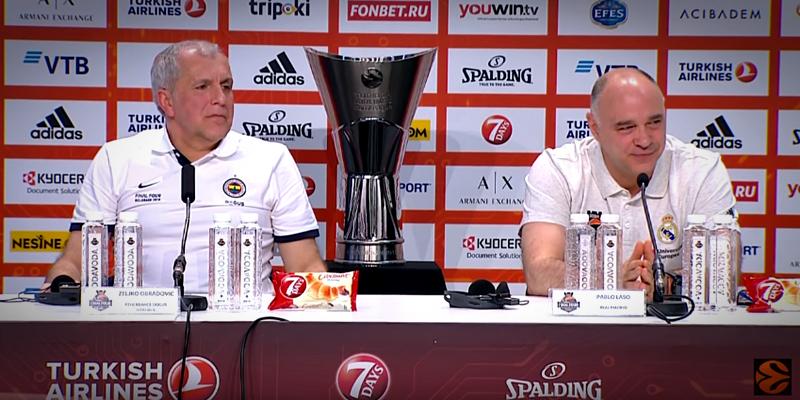 VÍDEO | Rueda de prensa previa a la final de la Euroleague
