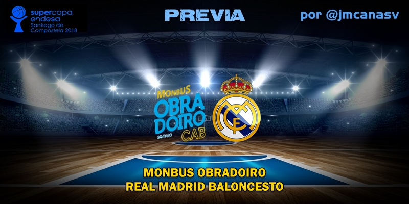 PREVIA | Monbus Obradoiro vs Real Madrid: Se acabó la espera
