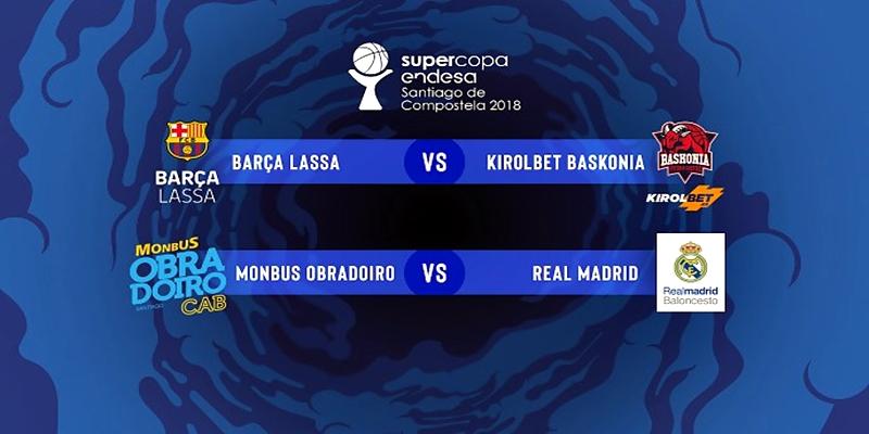 NOTICIAS   El Real Madrid se enfrentara al Obradoiro en las semifinales de la Supercopa Endesa