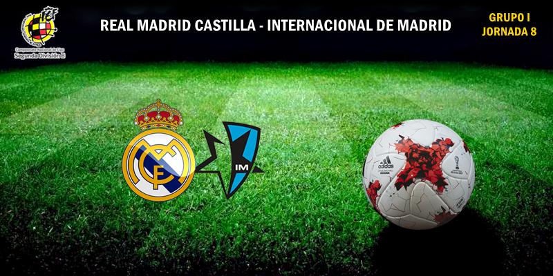CRÓNICA | El Castilla continua sin perder: Real Madrid Castilla 1 – 1 Internacional de Madrid