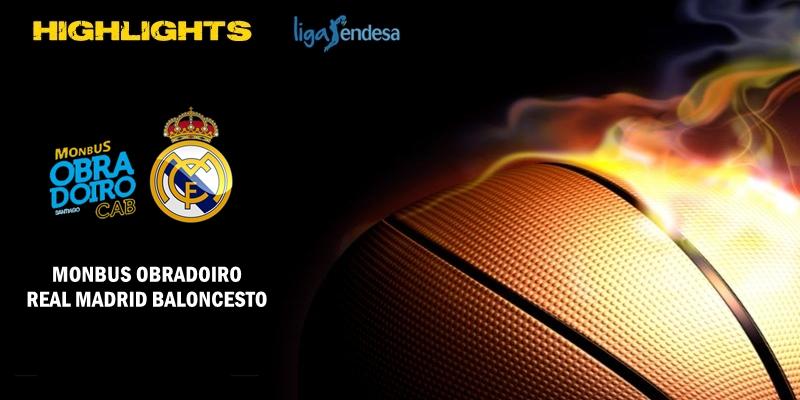 VÍDEO | Highlights | Monbus Obradoiro vs Real Madrid | Liga Endesa | J5