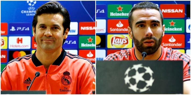 VÍDEO   Rueda de prensa de Santiago Hernán Solari y Dani Carvajal previa al partido ante la Roma