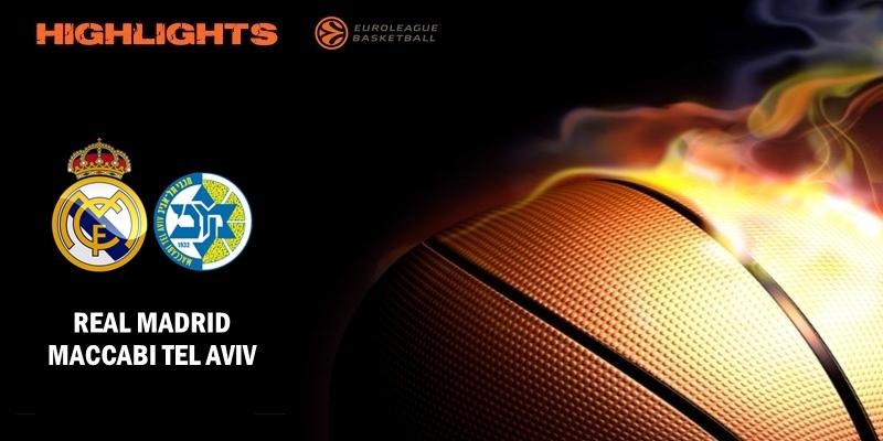 VÍDEO | Highlights | Real Madrid vs Maccabi Tel Aviv | Euroleague | J16