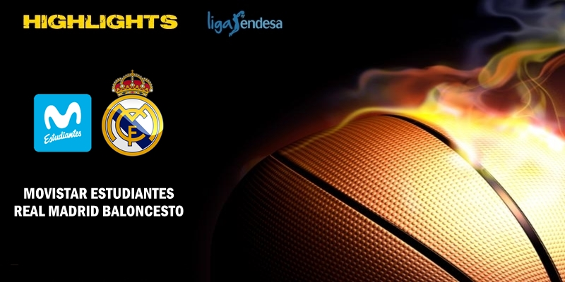 VÍDEO | Highlights | Movistar Estudiantes vs Real Madrid | Liga Endesa | J15
