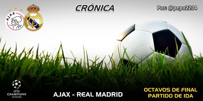 CRÓNICA | Ramos de tulipanes: Ajax 1 – 2 Real Madrid