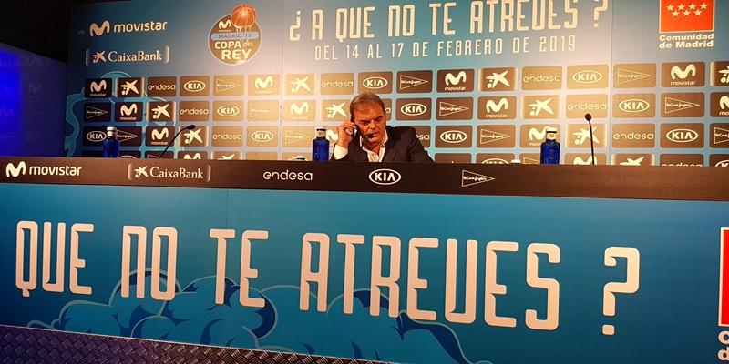 RUEDA DE PRENSA   Juan Carlos Sánchez: «No sé lo que han visto los árbitros»