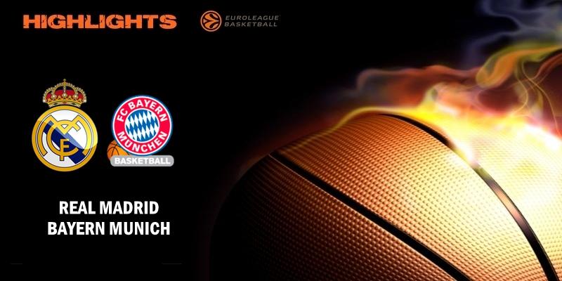 VÍDEO | Highlights | Real Madrid vs Bayern Munich | Euroleague | Jornada 23
