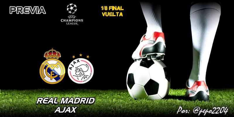 PREVIA | Real Madrid vs Ajax: La carta marcada