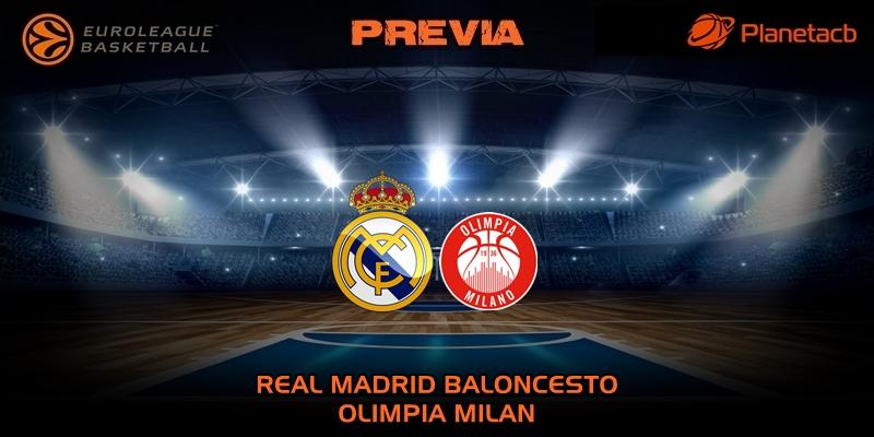 PREVIA | Real Madrid vs Olimpia Milan | Euroleague | Jornada 27