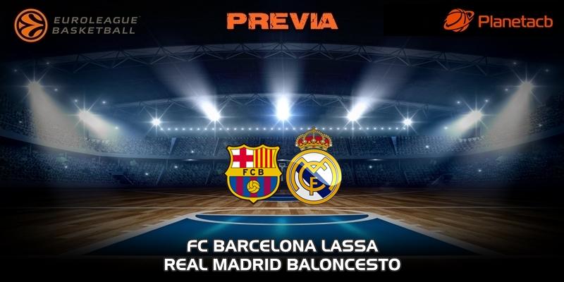 PREVIA | FC Barcelona vs Real Madrid | Euroleague | Jornada 24