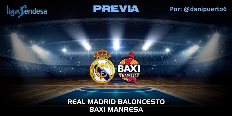 PREVIA | Real Madrid vs Baxi Manresa | Liga Endesa | Jornada 23