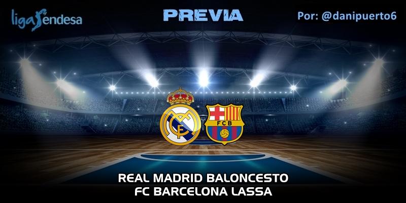 PREVIA | Real Madrid vs FC Barcelona | Liga Endesa | Jornada 24