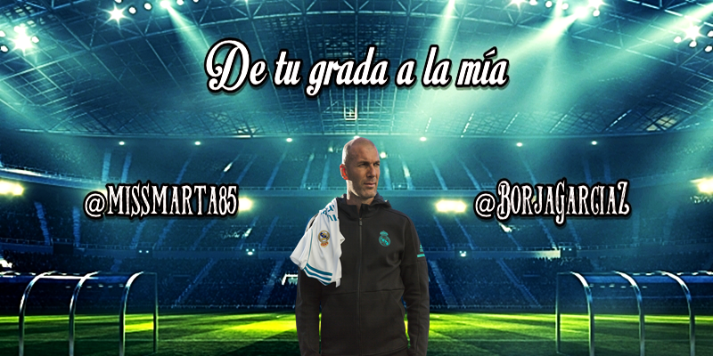 DE TU GRADA A LA MÍA   ¿Es Zidane la solución?
